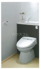(仮)南千束3丁目マンション 201号室のトイレ