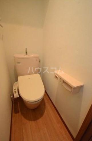 サンステージ目黒本町 201号室のトイレ