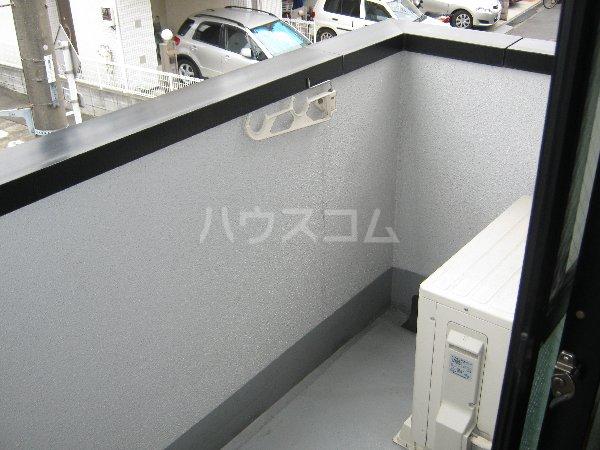 エルミタージュ 201号室のバルコニー