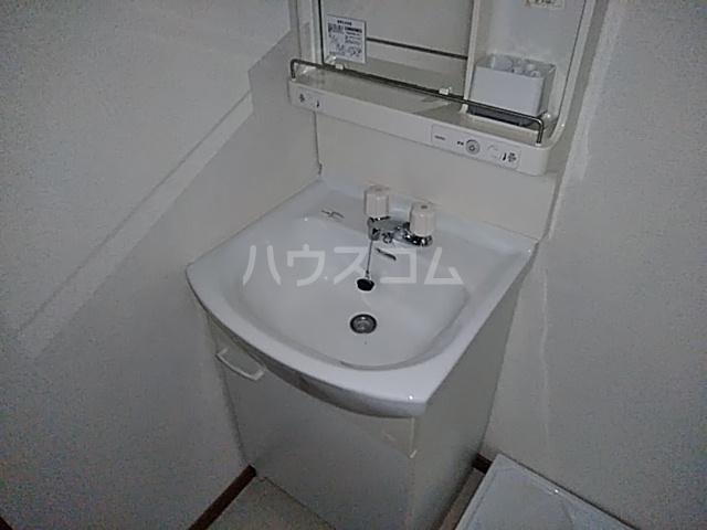 カスカワビル 403号室の洗面所