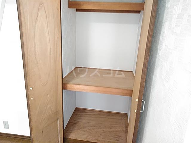 三松ハウス 201号室の収納