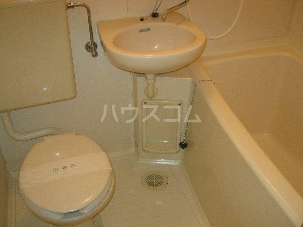 コスモハイム元住吉 501号室のトイレ