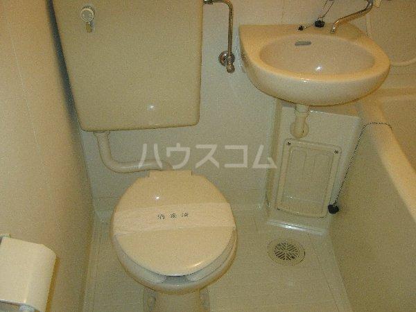 コスモハイム元住吉 501号室の洗面所