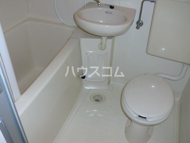 コスモハイム元住吉 502号室のトイレ