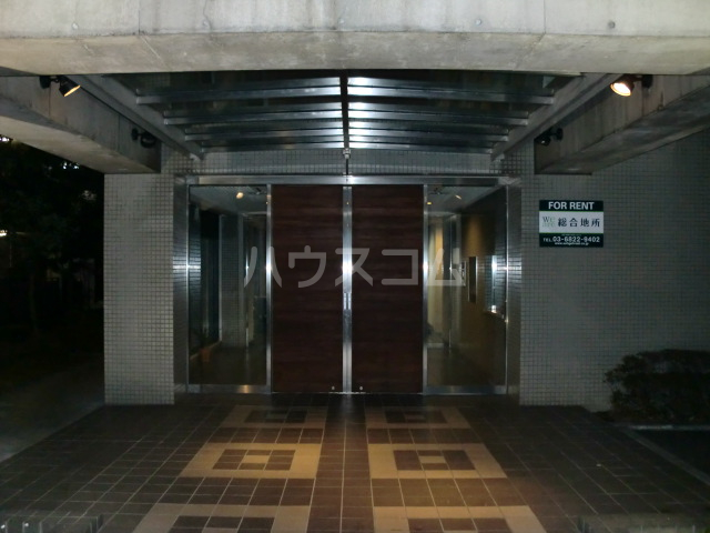 コスモハイム元住吉 502号室のエントランス