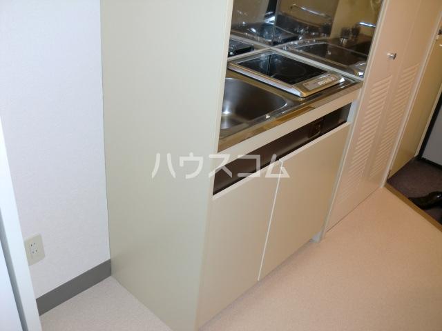 コスモハイム元住吉 502号室のキッチン