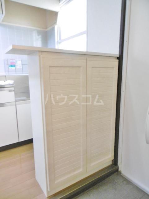カーサ湯川 201号室の収納