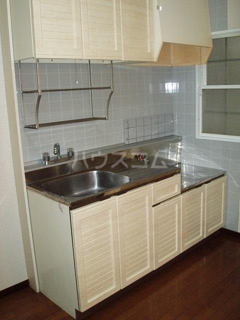 カーサ湯川 201号室のキッチン
