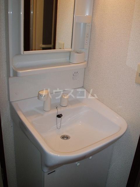 カーサ湯川 201号室の洗面所