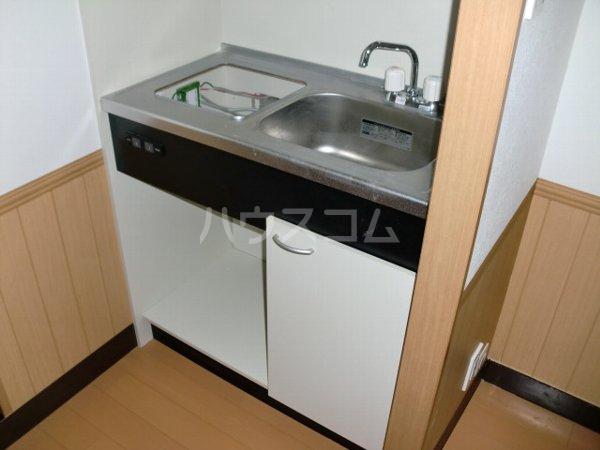 内田マンション 304号室のキッチン