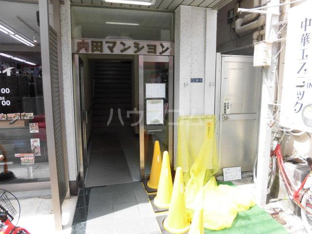 内田マンション 304号室のエントランス