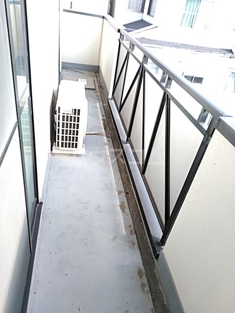 メゾンリヴィエール 302号室のバルコニー