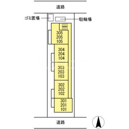 仮)D-room上丸子天神町Ⅱ 101号室の