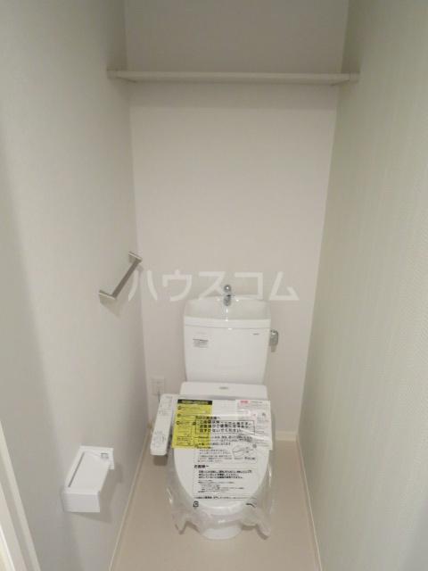 la fortuna 102号室のトイレ