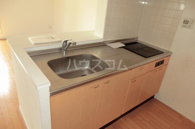 ANSER 501号室のキッチン