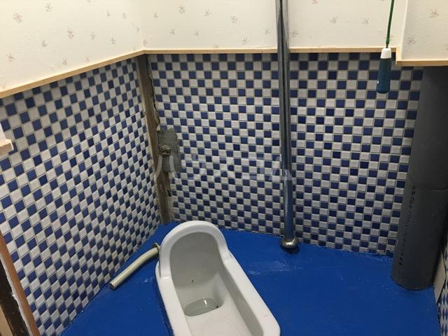 千成荘 1号室のトイレ