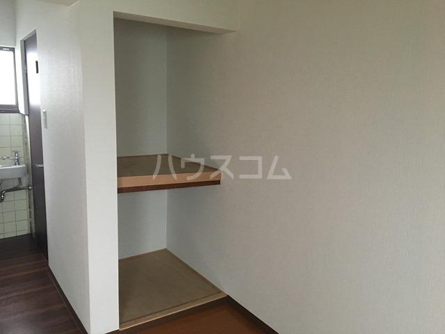 千成荘 1号室の収納