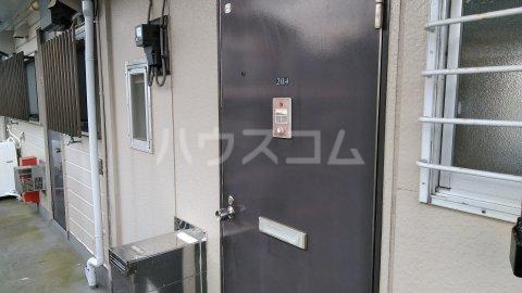 サザンクロスⅡ 204号室のエントランス