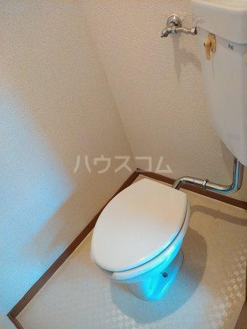 シマハイツ 101号室のトイレ