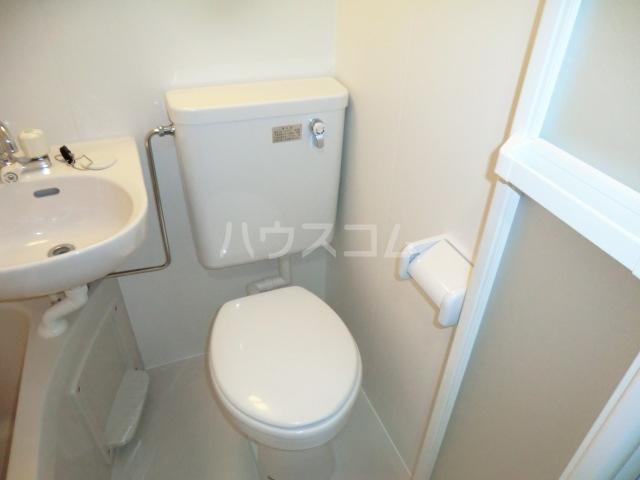 リブ亀有 103号室のトイレ
