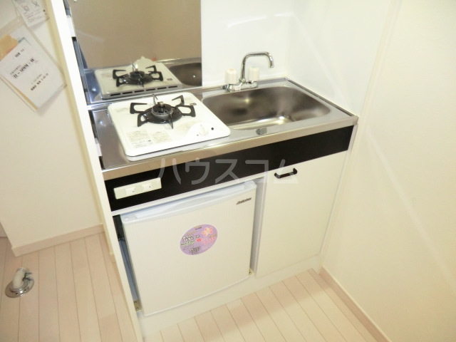 リブ亀有 103号室のキッチン