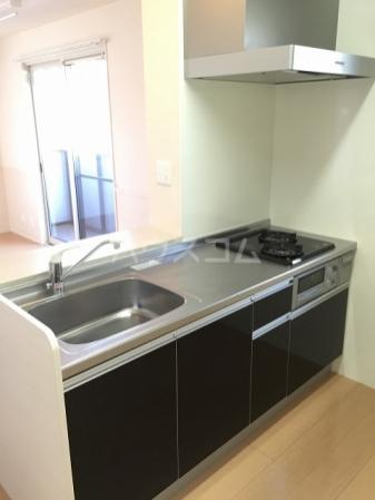 SAKURA HILSS E 201号室のキッチン