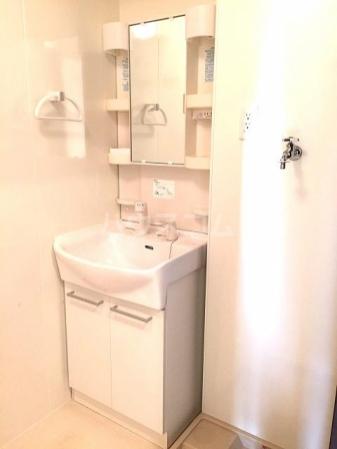 SAKURA HILSS E 201号室の洗面所