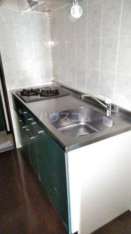 アトラスカーロ北浦和 107号室のキッチン