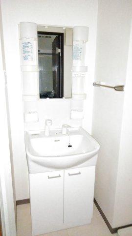 アトラスカーロ北浦和 107号室の洗面所