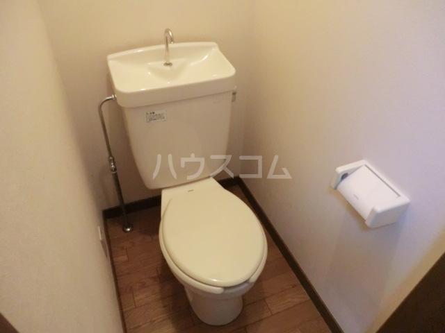 HANAハイム S 201号室のトイレ