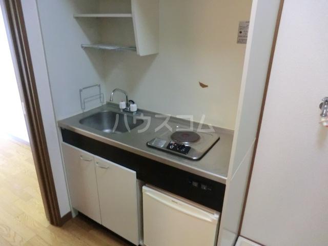HANAハイム S 201号室のキッチン