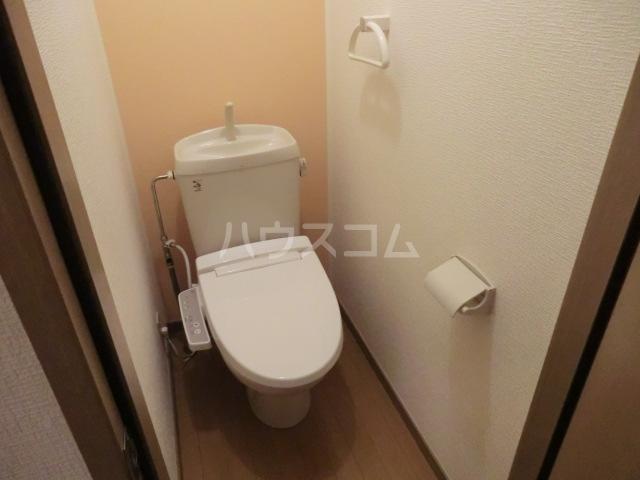プランドール栗 102号室のトイレ