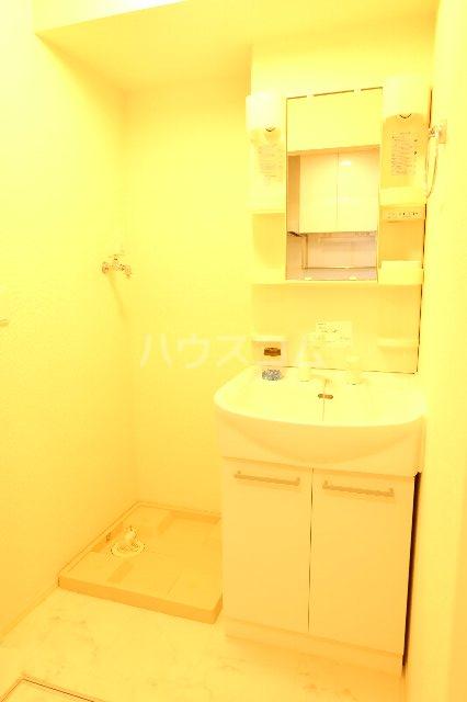 セラ 303号室の洗面所