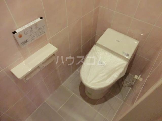 Villa Ocean Court 302号室のトイレ