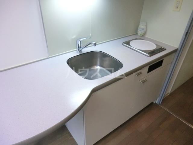 サンセール与野本町 216号室のキッチン