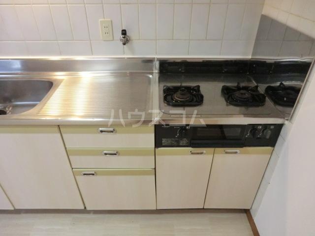 RJR与野 302号室のキッチン