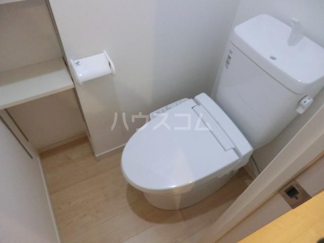上落合SIマンション 205号室のトイレ