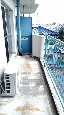 浦和昭和ビル 302号室のバルコニー