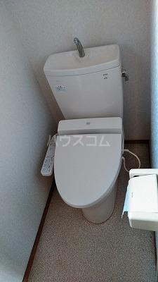 上木崎4丁目戸建のトイレ