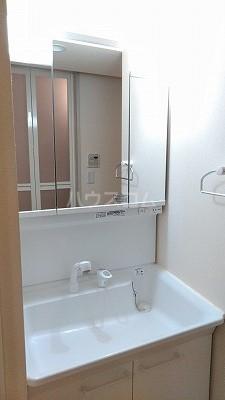 パームコテージⅩⅤ番館 101号室の洗面所