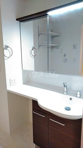 プレジオⅡ 201号室の洗面所