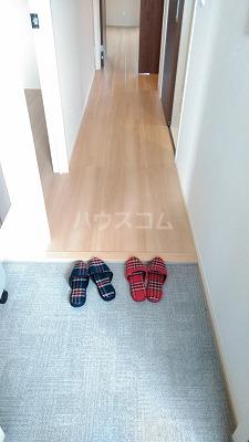 プレジオⅡ 203号室の玄関