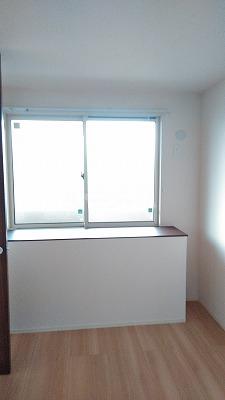 プレジオⅡ 203号室のベッドルーム