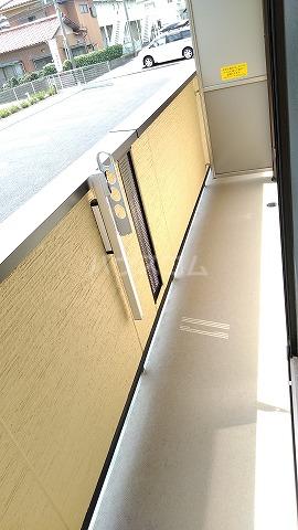 プレジオⅡ 301号室のバルコニー