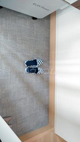 プレジオⅡ 301号室の玄関