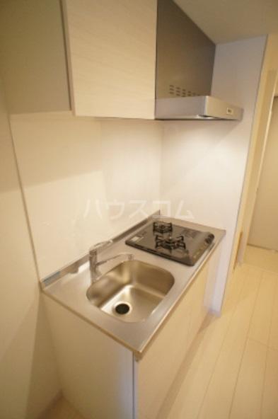 リブリ・グレーヌ 201号室のキッチン