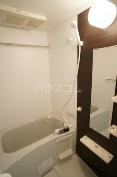 リブリ・グレーヌ 201号室の風呂