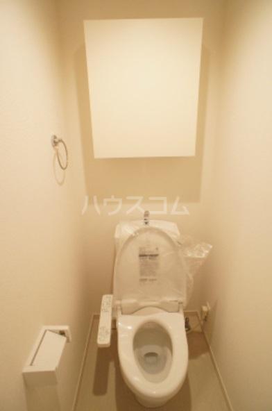 リブリ・グレーヌ 201号室のトイレ