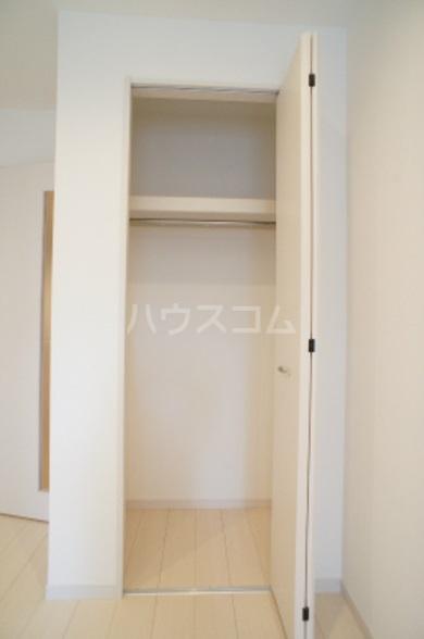 リブリ・グレーヌ 201号室の収納