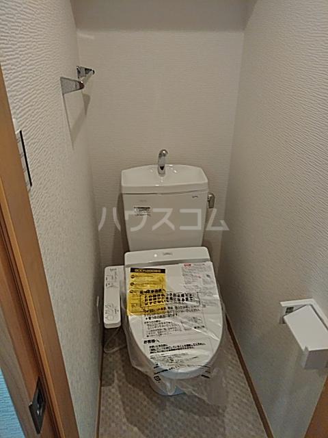 フォレール 1C号室のトイレ